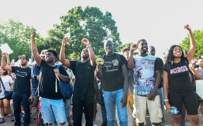 Minnesota declares emergency over protests against black man's death
