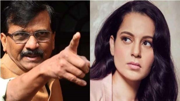 Kangana, who openly challenged to come to Mumbai, was answered by Shiv Sena leader Sanjay Raut ... 69