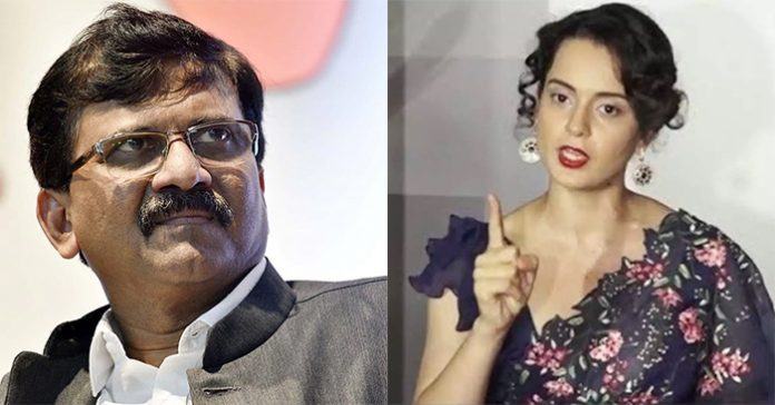Kangana, who openly challenged to come to Mumbai, was answered by Shiv Sena leader Sanjay Raut ... 66