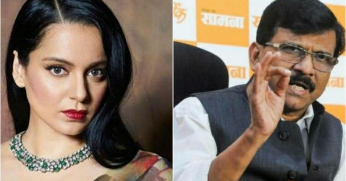 Shiv Sena leader Sanjay Raut replied to Kangana who openly challenged him to come to Mumbai ... 67