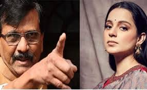 Kangana, who openly challenged to come to Mumbai, was answered by Shiv Sena leader Sanjay Raut ... 70