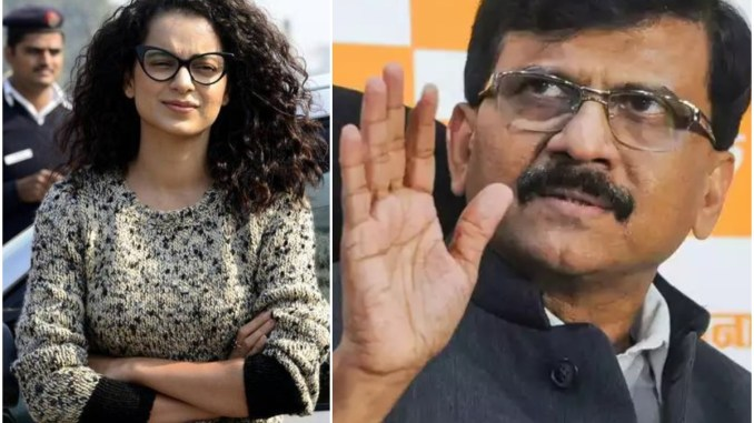 Shiv Sena leader Sanjay Raut replied to Kangana who openly challenged her to come to Mumbai ... 68