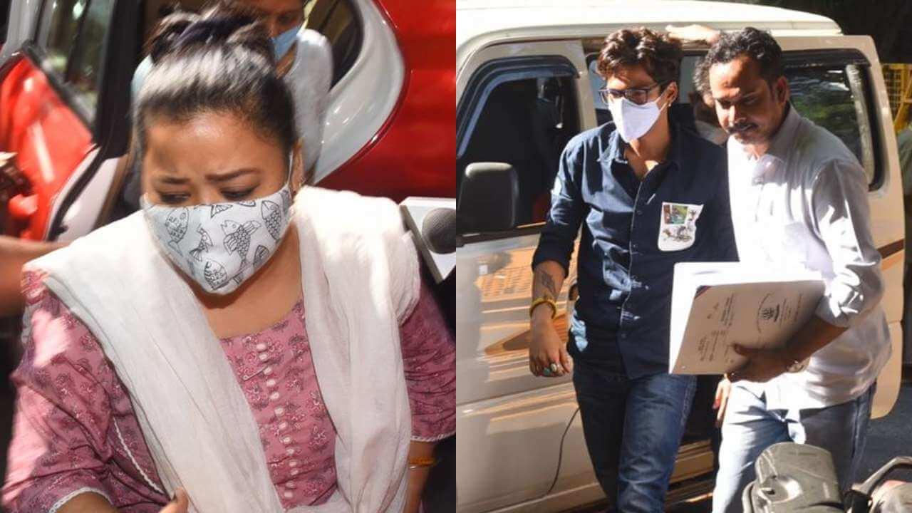 ભારતી અને તેના પતિ હર્ષની જામીન અરજી પર આજે સુનવાઈ થશે, ડ્રગ્સ કેસમાં 4 ડિસેમ્બર સુધી કસ્ટડીમાં છે 5